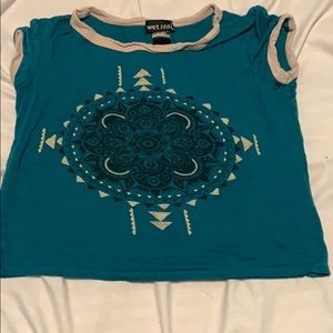Wet seal xs crop top